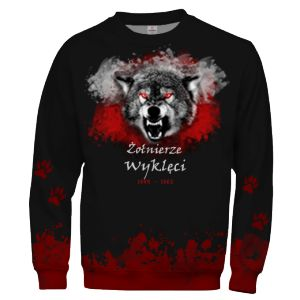 POLAND OUTCAST SOLDIERS Soldiers Patriotic Sweatshirt Wolf