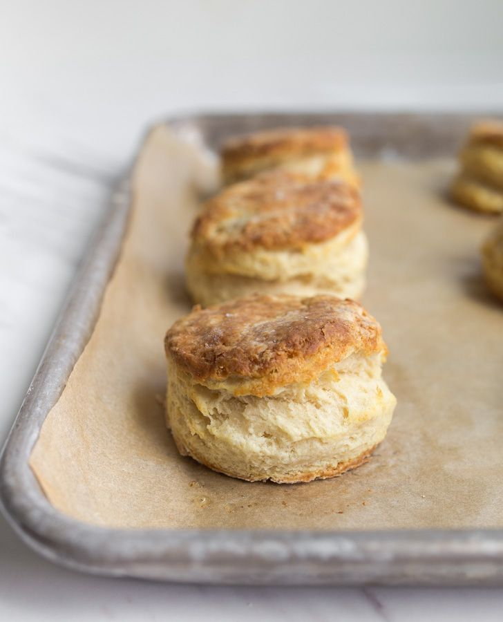 Small Batch Biscuits For Two A Batch Of Buttermilk Biscuits That Makes Only 6 Biscuits Perfect Flaky Homemade Biscuits Easy Homemade Biscuits Biscuit Recipe