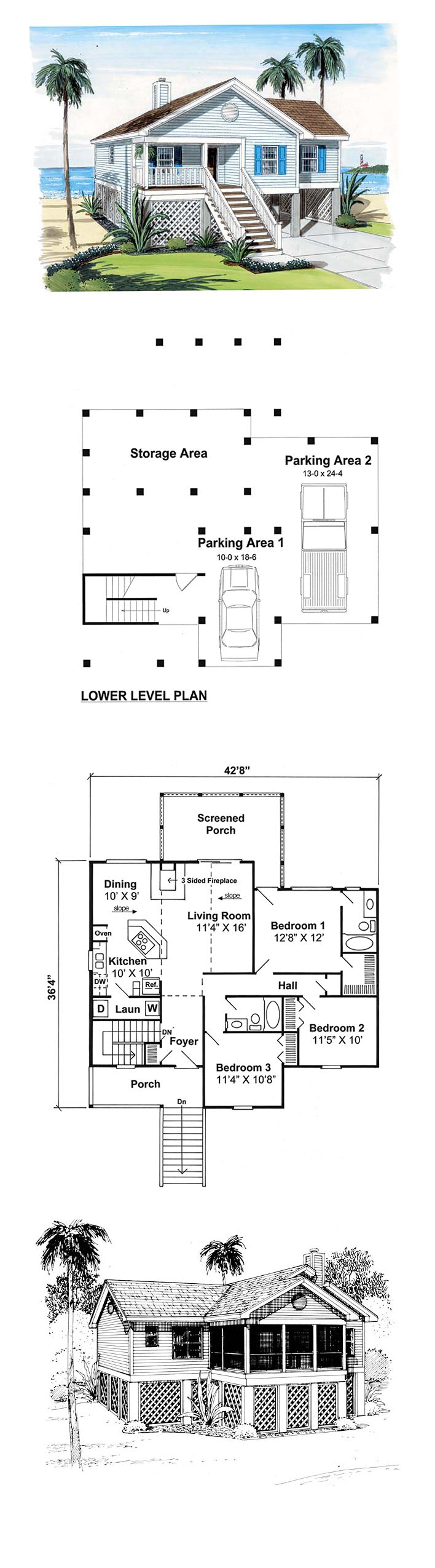 16 Best Images About Cabin House Plans On Pinterest