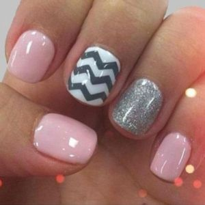 chevron+nail+design | collect collect this now for later