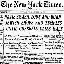 What the rest of the world knew about Kristallnacht.