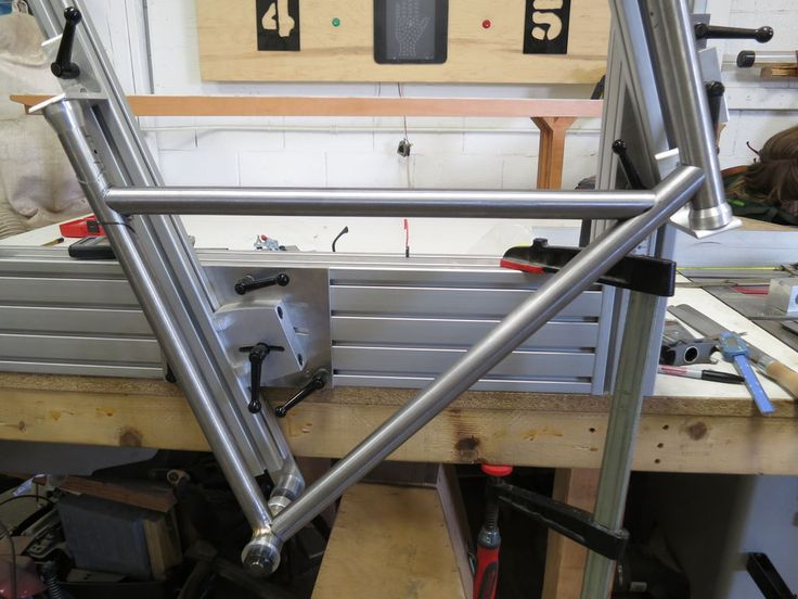 bicycle frame building jig metalworking bikes and welding