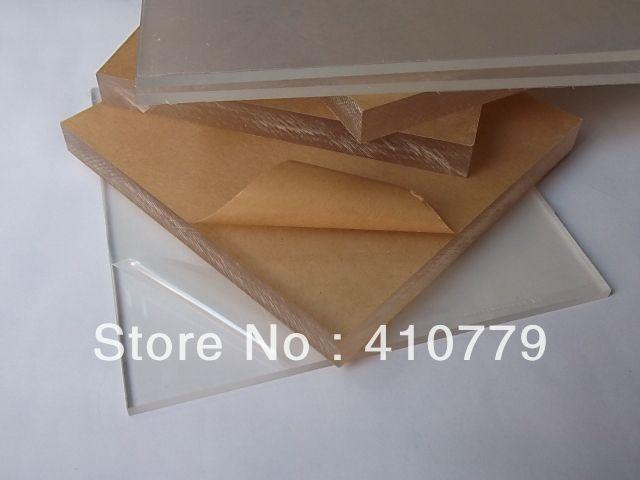 Акриловый Лист Tansparent 300x200x3 мм Высокая Прозрачный Доска Пластиковые Строительный Материал Home Decor Есть размер