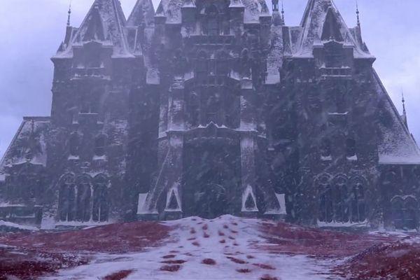 Crimson peak: Allerdale Hall