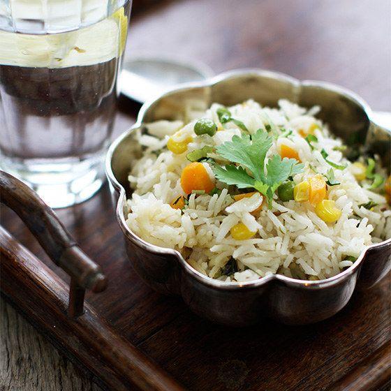 Vegetable Pilau Rice - 30 minutes