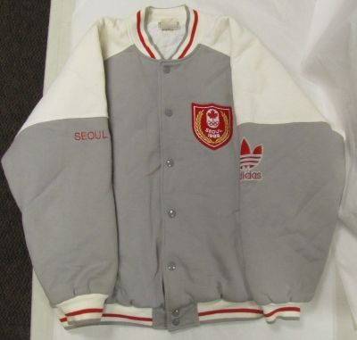 Team Canada jacket, Seoul 1988. Nova Scotia Sport Hall of Fame collection, Halifax