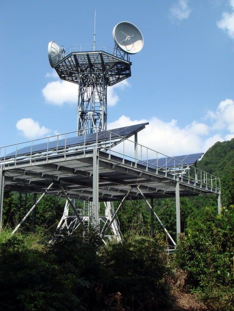 NTT西日本|水ヶ平無線中継所
