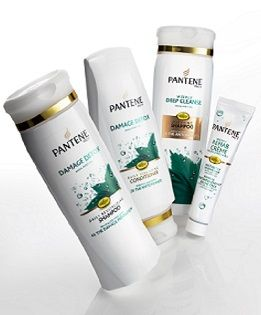 Damage Comes Clean with Pantene Pro-V Anti-Oxidant Technology