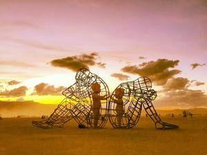 "Українська ""Любов"" підкорила американський фестиваль Burning Man"