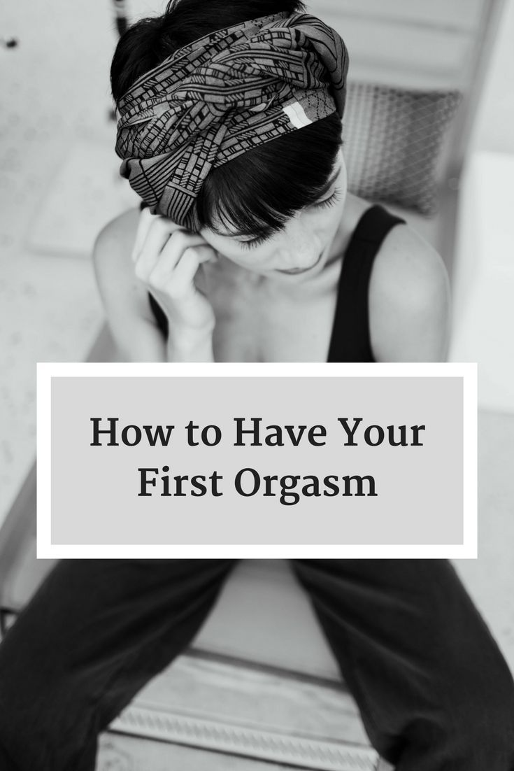 How to get an orgasm alone