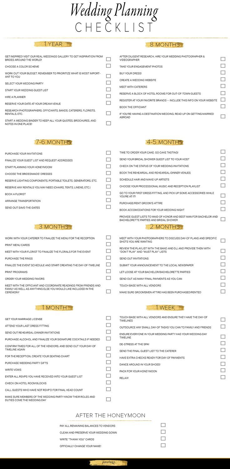 Wedding Planning Checklist  Boda    Wedding Planning