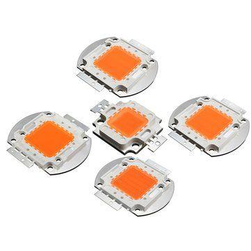 10W 20W 30W 50W 100W 380NM-840NM Full Spectrum High Power LED Chip Grow Light Sale - Banggood.com