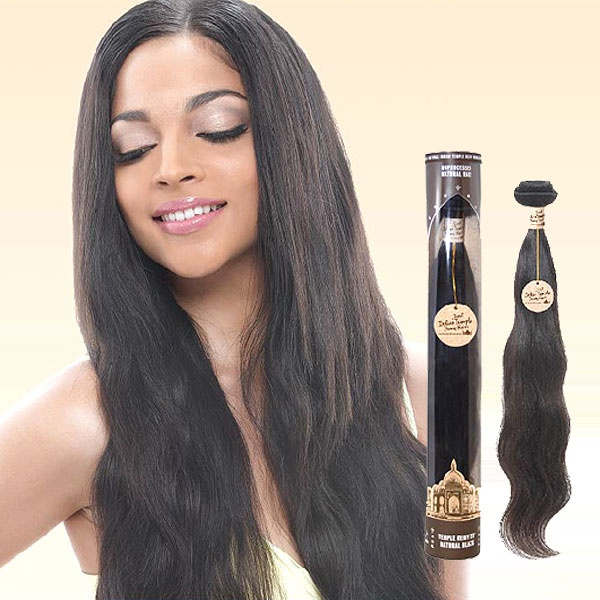 Janet Collection 100 Unprocessed Indian Temple Remy Human Hair