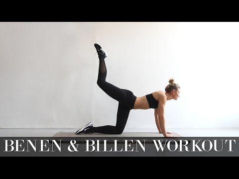 Benen & Billen Workout - Followfitgirls - YouTube