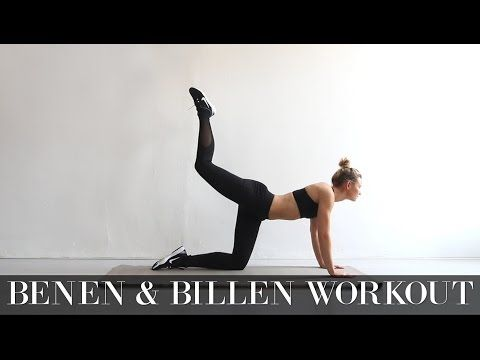 Benen & Billen Workout - Followfitgirls - YouTube