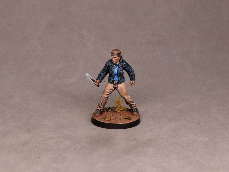 Painting tutorial for Sandra Walking Dead All Out War.
