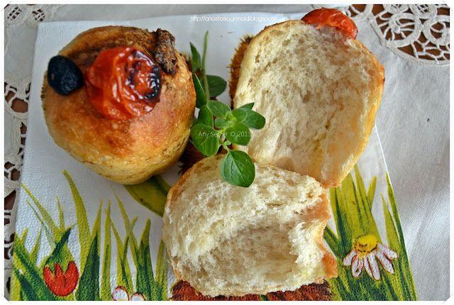 Muffin salato con lievito madre