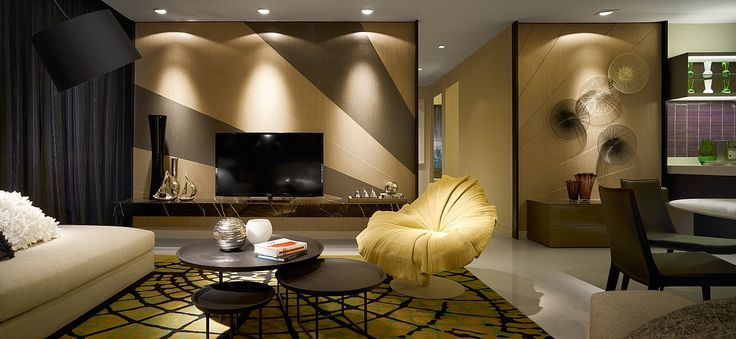 interior Residences Blu by Water Studio Bespoke Design Concept Inspired by Catwalk Trends: The Residences Kuala Lumpur