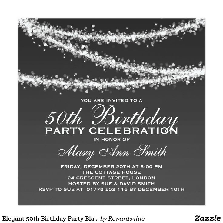 The 25 best 50th birthday party invitations ideas on Pinterest