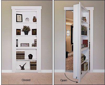 Flush-Mount Murphy Door Hardware Kit - Hardware For bedroom door at bottom of master stairs.