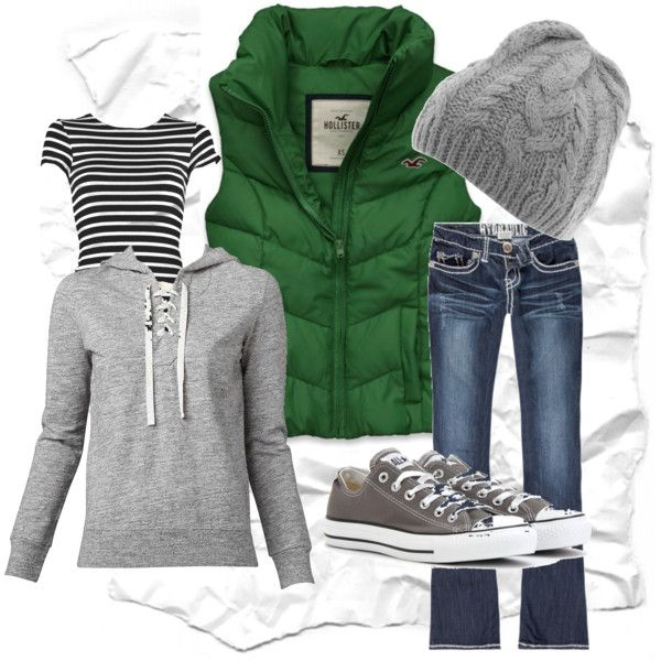 casual winter, created by kristajoy1 on Polyvore