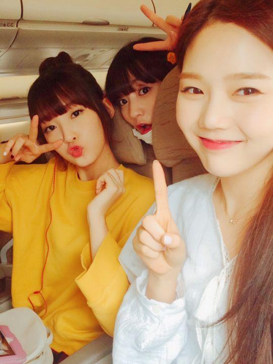 Arin, Binnie and Hyojung