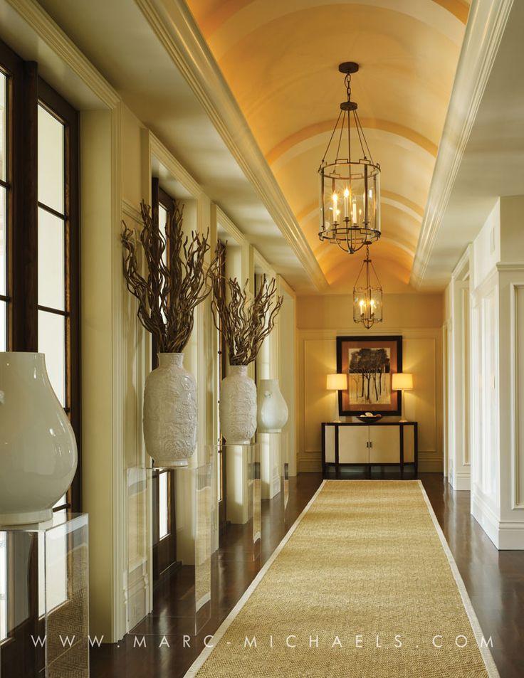 Foyer Plaster Ceiling : Boca raton fl marc michaels interior design inc