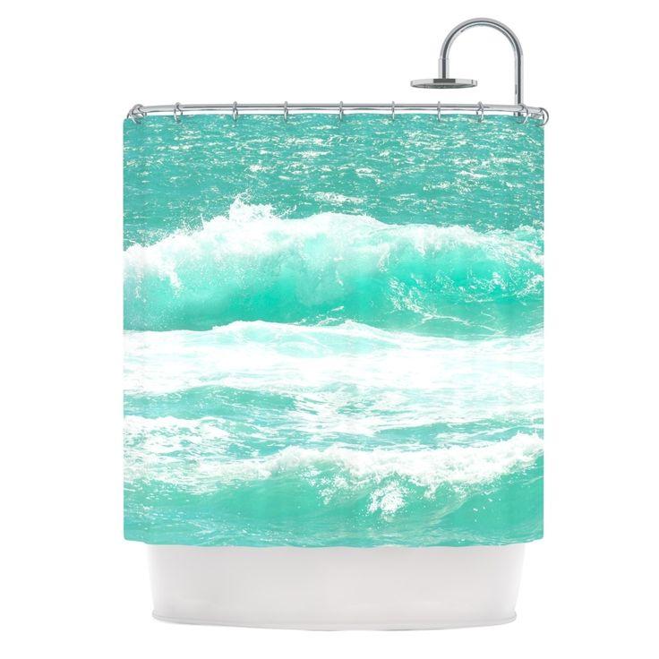 25 Best Green Shower Curtains Ideas On Pinterest Tropical Shower Curtains Tropical Bar Sinks