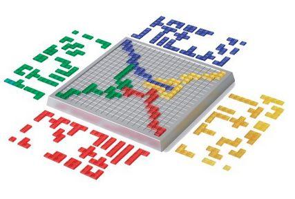 Blokus, le jeu de stratégie de toute la famille. Facilement accessible aux débutants et un vrai défi pour les experts !