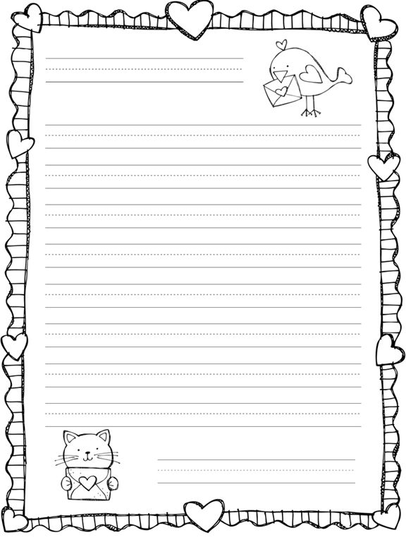 Best 25 letter writing template ideas on pinterest for Letter writing template for first grade