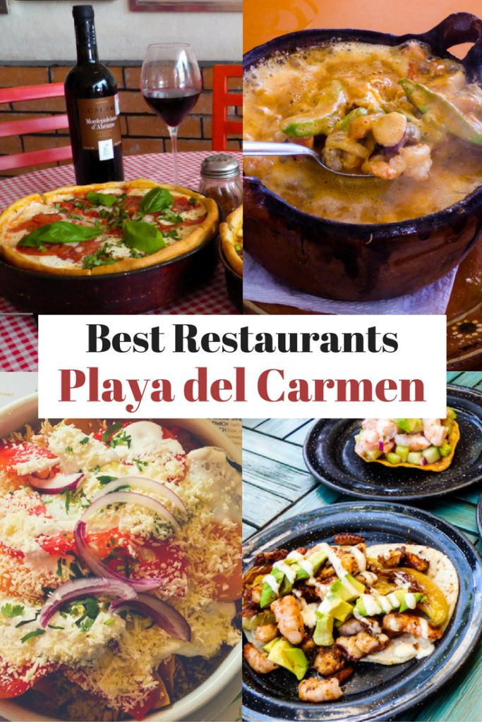 After spending a couple of months eating our way around town we decided to put together a list of our choices for the best restaurants in Playa del Carmen via @livedreamdiscov