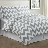Found it at AllModern - Echelon Home Chevron Duvet Cover Set