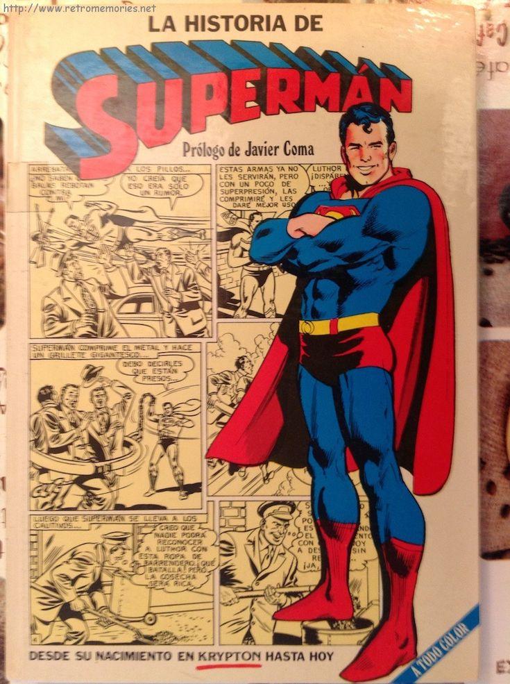 La historia de Superman (ed. Novaro 1979)