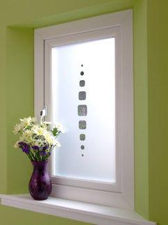 esmerilado vidrio puerta
