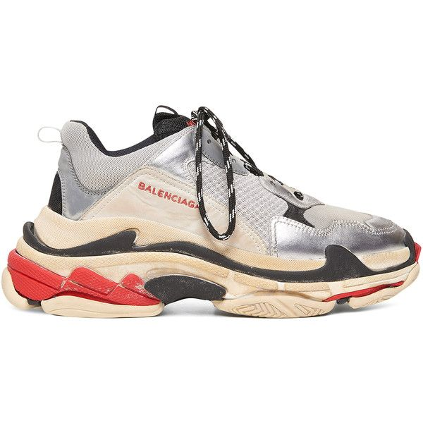 cb0d19c973f9 Balenciaga Mens Triple S (15.257.755 IDR) ❤ liked on Polyvore featuring  men s fashion
