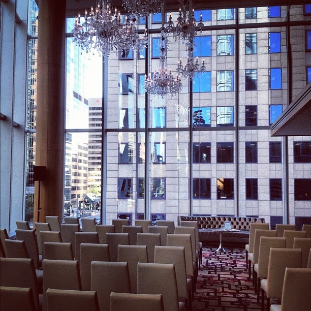 The Shangri-La hotel, Toronto.