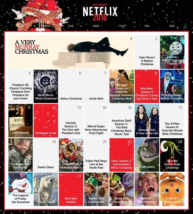 Netflix Christmas Schedule | Check out these GREAT holiday shows and plan a warm and cozy Netflix Holiday ! #StreamTeam