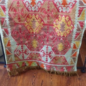 POTTERY BARN TAUNA INDOOR OUTDOOR KILIM RUG 3x5 NEW