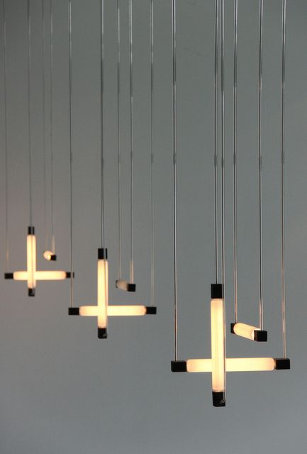 Hanging lamps by Gerrit Rietveld, 1920. Perfect for an eclectic effect.