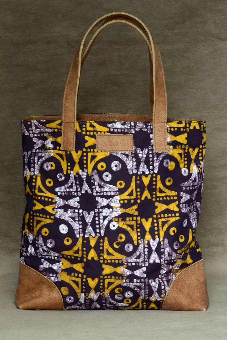 African Tote bag.. Celebration of Africa colours and Prints. Found on: www.poshetbags.com & www.facebook.com/...