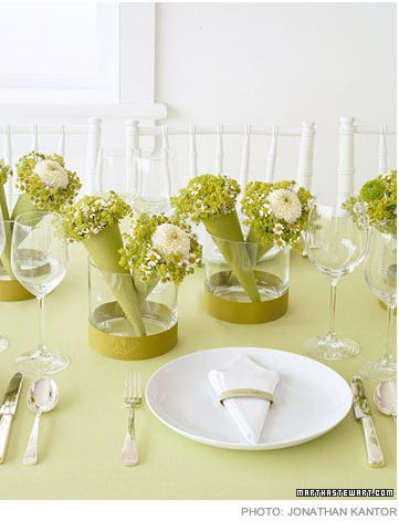 104 best green apple party ideas images on pinterest table 10 ideas for an apple green wedding theme floral decorations in cones are wedding favors junglespirit Image collections