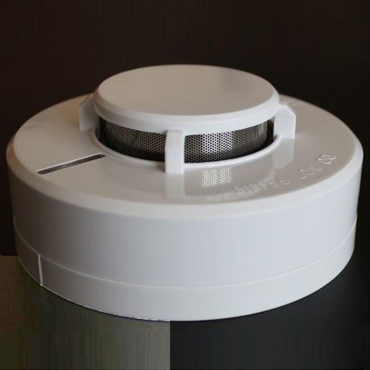 2 Cables de alarma de humo detectores de humo DC9-25V panel de trabajar con los Sistemas Convencionales