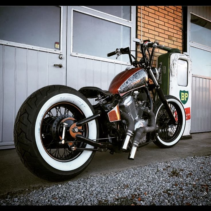 Honda shadow vt600 bobber