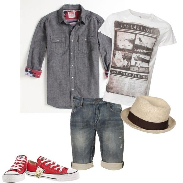 mens summer clothes, converse, denim