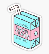 Boys' Tears Juicebox Pegatina