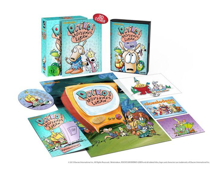 Rockos modernes Leben - Die komplette Serie Limitiert im Hartkarton inkl. 3D-Coverkarte, Stickern, Postkarten, Poster und DVD-Extras: Amazon...