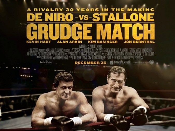 """Review: Grudge Match – """"Rocky versus Raging Bull"""" – Win a copy"""