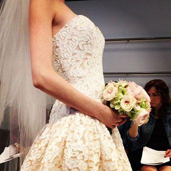 Wedding Dress Trends Fall 2013 - Blush