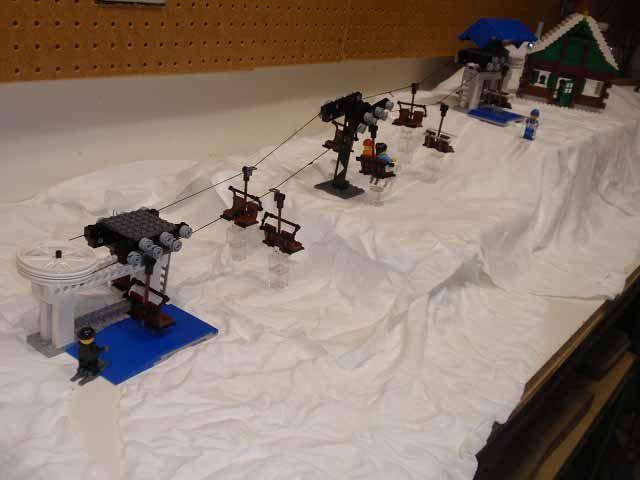 Lego ski lift