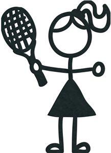 stick figure tennis